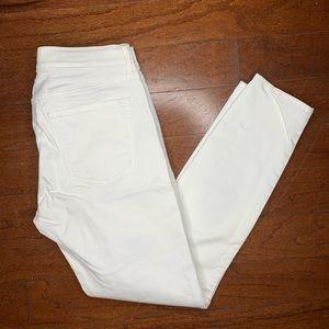 Gap White Skinny Legging Jean Size 27